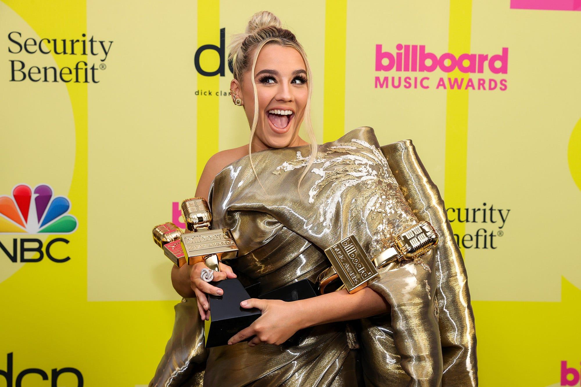Gabby Barrett Wins Three 2021 Billboard Music Awards