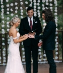 Cade Foehner, Gabby Barrett, and Jeremy Vuolo at Union Springs Wedding and Event Venue - Garrison, TX - October 5, 2019