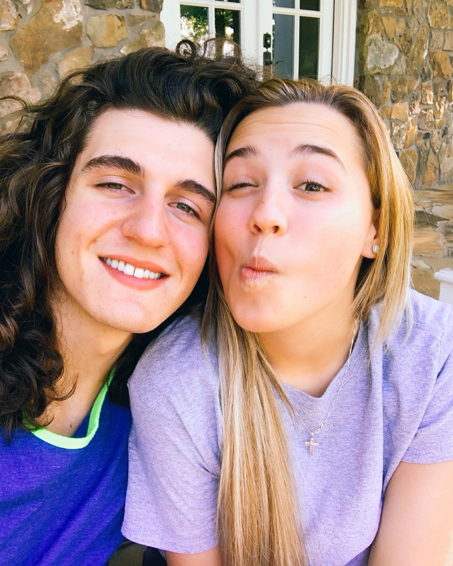CADE FOEHNER AND GABBY BARRETT IN EAST TEXAS ON MAY 15, 2019.