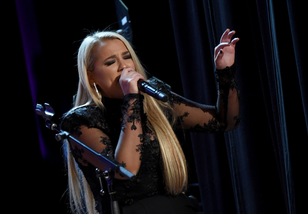 GABBY BARRETT PERFORMING LIVE AT THE 2019 CMT NEXT WOMEN OF COUNTRY