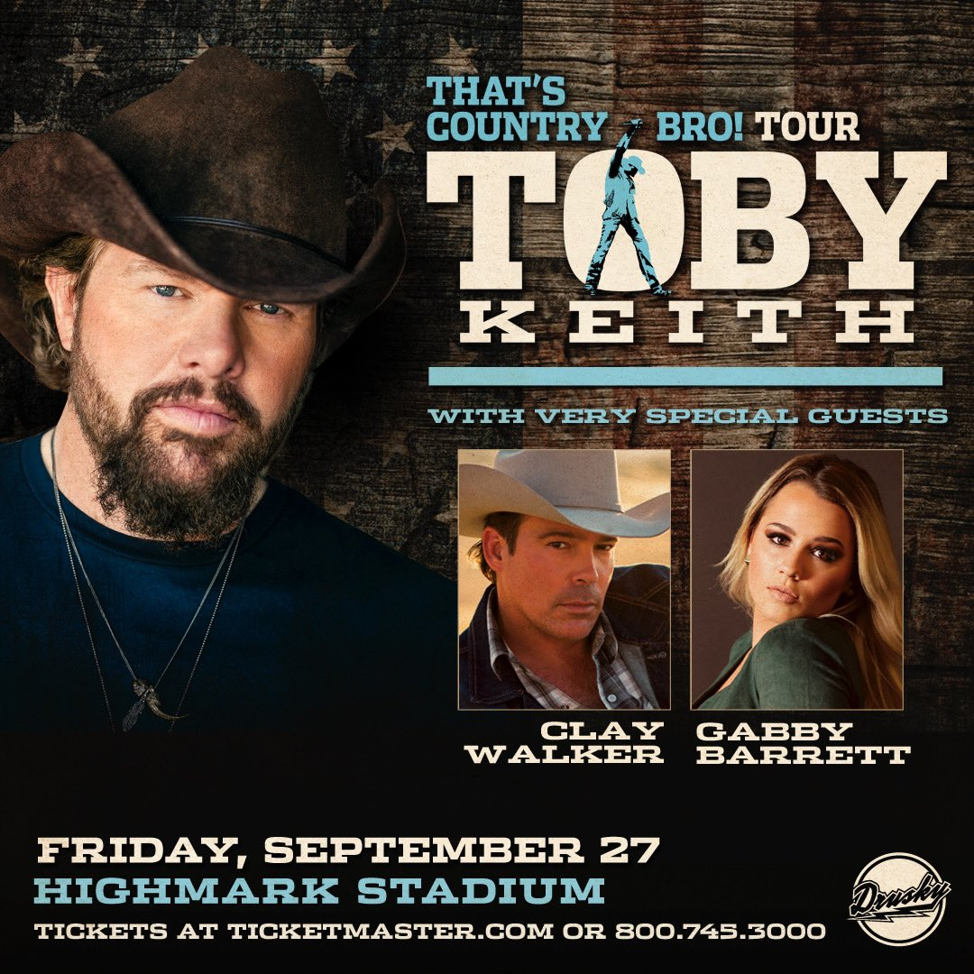 TOBY KEITH: THAT'S COUNTRY BRO! TOUR - HIGHMARK STADIUM - PITTSBURGH, PA