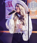 Gabby Barrett performing at the 56th ACM Awards