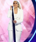 2021 CMT Artists Of The Year honoree Gabby Barrett performing