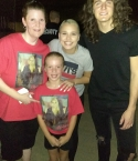 CHRISTINA JONES (ME), NATALIE (MY NIECE), GABBY BARRETT, AND CADE FOEHNER