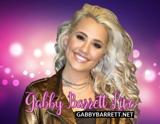 Welcome to Gabby Barrett Live!