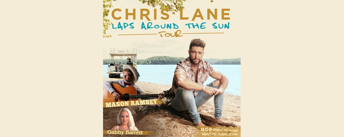 Gabby Barrett to Join Chris Lane's 'Laps Around The Sun Tour'