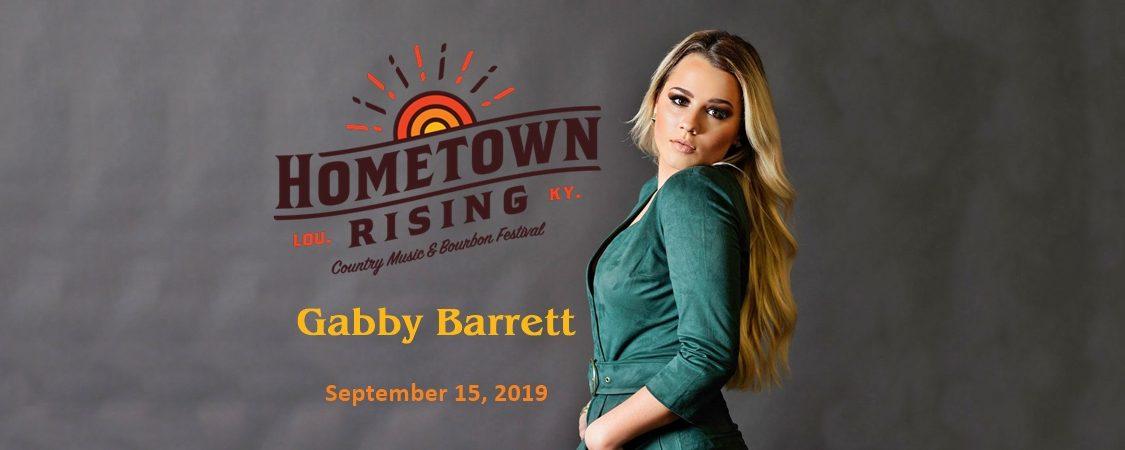 Gabby Barrett to Perform at Hometown Rising Country Music & Bourbon Festival – September 15
