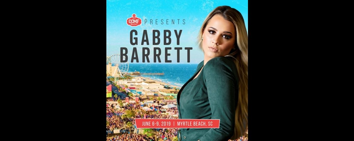 Gabby Barrett to Perform at Carolina Country Music Fest 2019