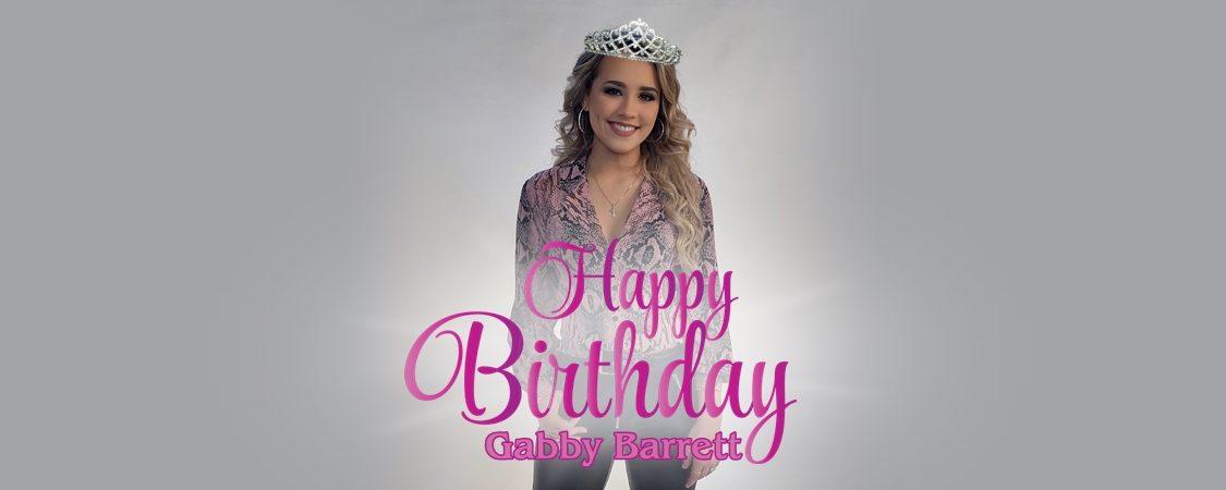 Happy 19th Birthday, Gabby Barrett!