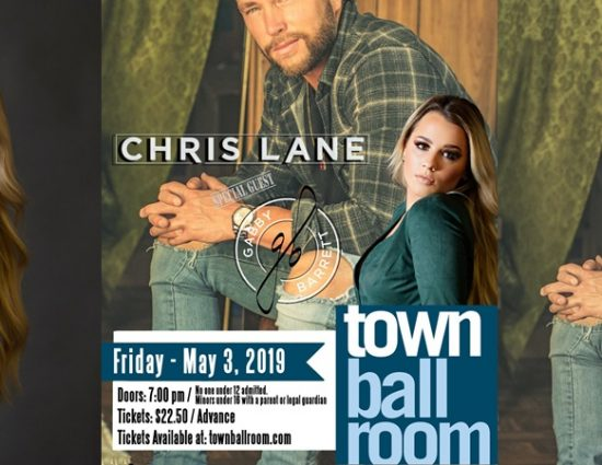 Chris Lane with Special Guest Gabby Barrett in Buffalo, NY – May 3