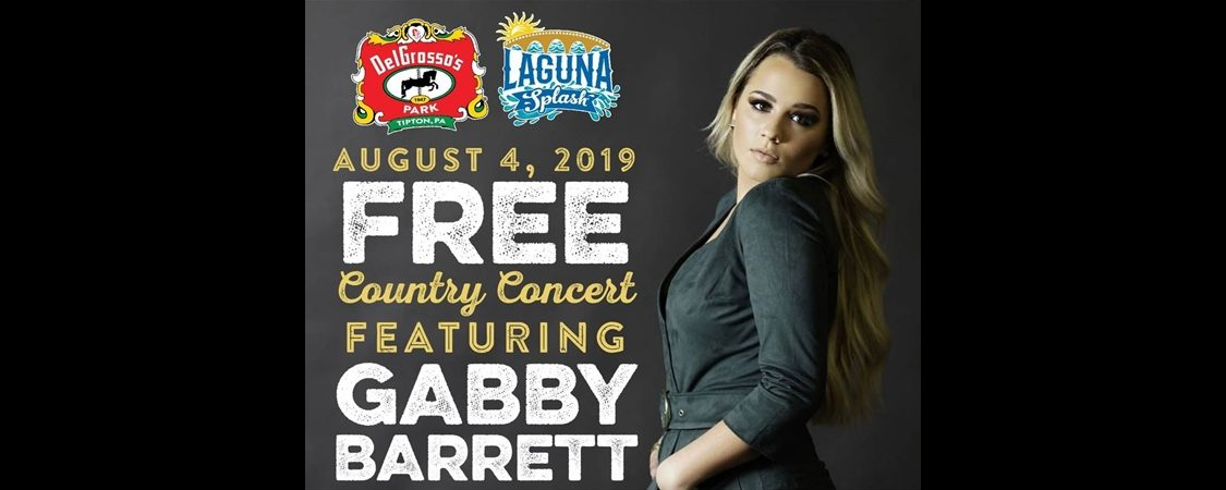 Gabby Barrett to Perform at DelGrosso's Amusement Park – August 4