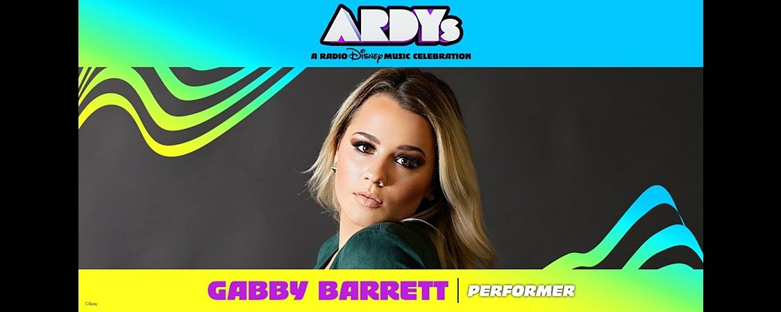Gabby Barrett to Perform at ARDYs: A Radio Disney Music Celebration – June 16