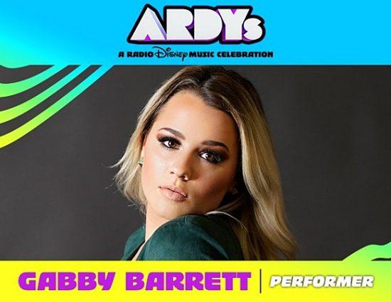 Gabby Barrett to Perform at ARDYs: A Radio Disney Music Celebration – June 16