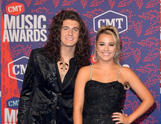 Gabby Barrett & Cade Foehner Attend the 2019 CMT Music Awards