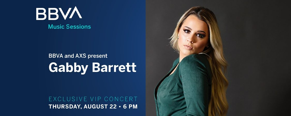 BBVA Music Sessions with Gabby Barrett – August 22