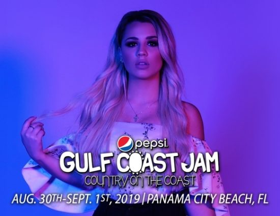 Gabby Barrett to Perform at Pepsi Gulf Coast Jam – September 1