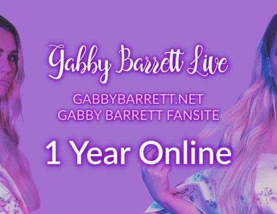 Gabby Barrett Live: Celebrating 1 Year Online