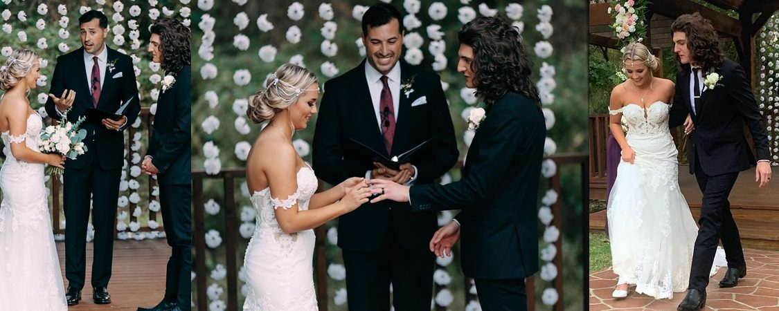 Cade Foehner and Gabby Barrett Wedding Video