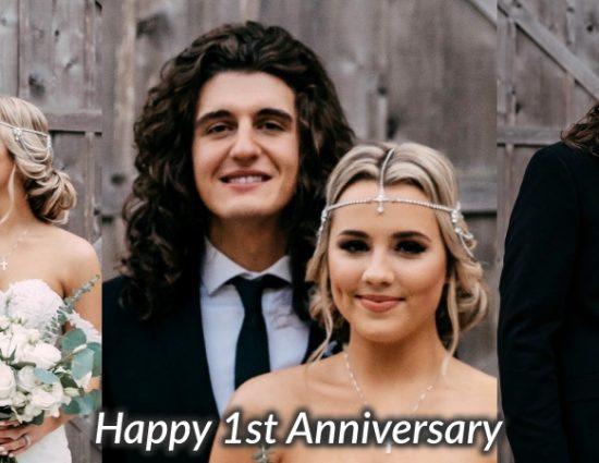Gabby Barrett and Cade Foehner Celebrate First Wedding Anniversary