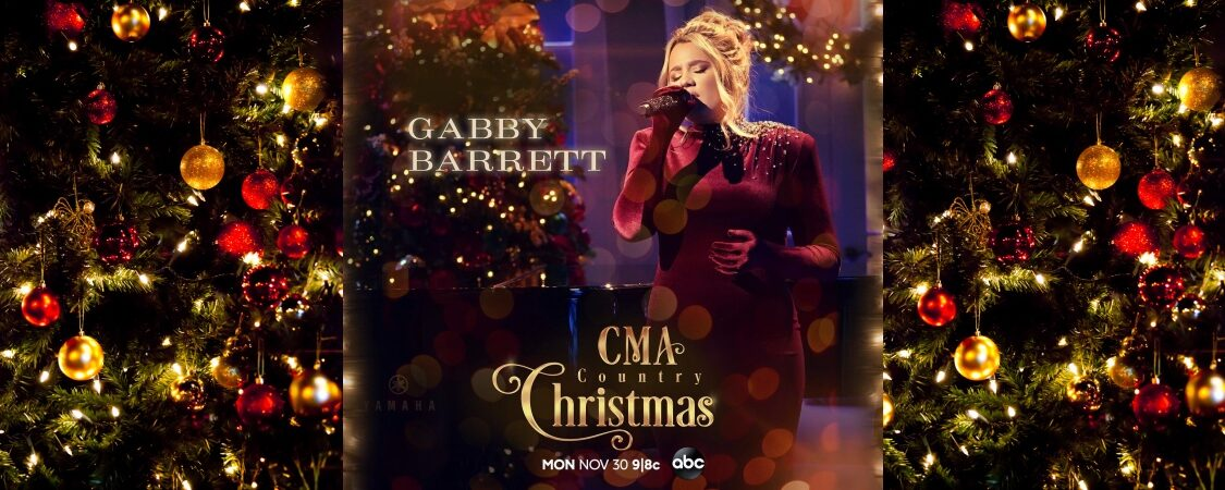 Gabby Barrett to Perform on the 11th Annual CMA Country Christmas on ABC