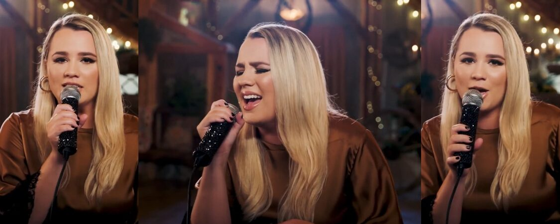 Gabby Barrett Performs on the iHeartRadio Red Barn Sessions Livestream presented by Country Crock