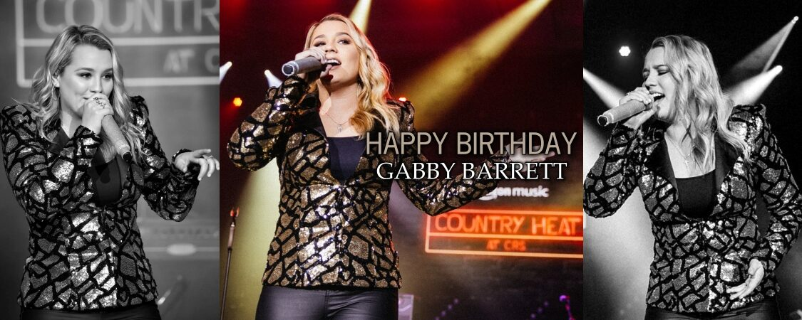 Happy 21st Birthday, Gabby Barrett!