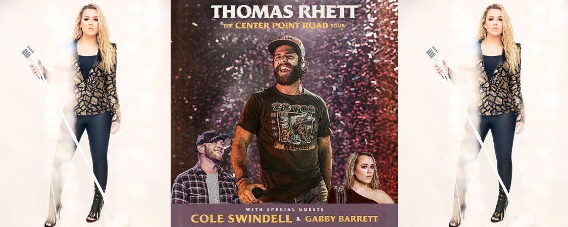 Catch Gabby Barrett on Thomas Rhett's 'The Center Point Road Tour'