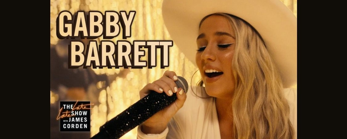 """Gabby Barrett Performs """"The Good Ones"""" on The Late Late Show with James Corden"""