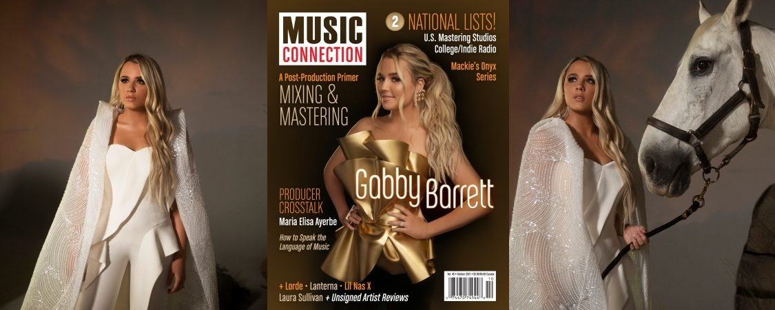 Gabby Barrett Talks with Music Connection Magazine